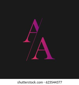 Letter Aa Logo Images Stock Photos Vectors Shutterstock