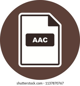 AAC Icon Vector