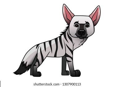 Aardwolf a small animal