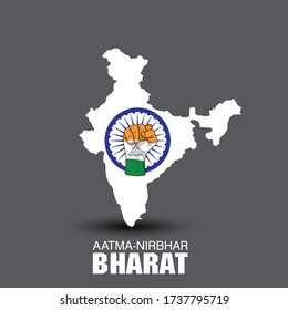 Aatm Nirbhar Bharat : Translation : Self dependent India; an Initiative by Indian Prime Minister Narendra Modi to make India Self dependent
