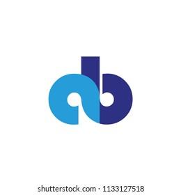 ab letter logo