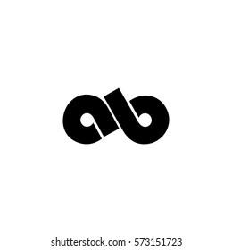 ab letter vector logo