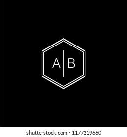 AB Logo template