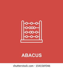 abacus design. abacus vector. abacus sign