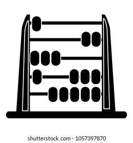 Abacus icon - school symbol