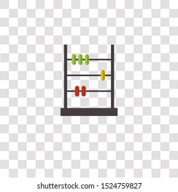 abacus icon sign and symbol. abacus color icon for website design and mobile app development. Simple Element from school elements collection for mobile concept and web apps icon.