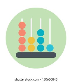 Abacus Vector Icon