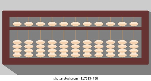 abacus vector illustration