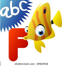 ABC animals: F is for Fish