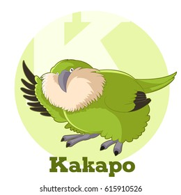ABC Cartoon Kakapo