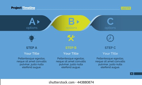 ABC Step Infographics Slide Template