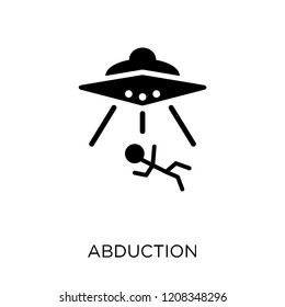 Abduction icon. Abduction symbol design from Astronomy collection.