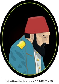 Abdul Hamid II,Turkish: ikinci Abdulhamit Han; was the 34th Sultan of the Ottoman Empire and the last caliph who uses this power.