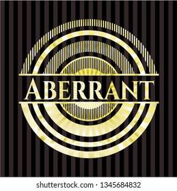 Aberrant gold shiny emblem