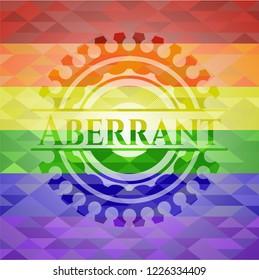 Aberrant lgbt colors emblem