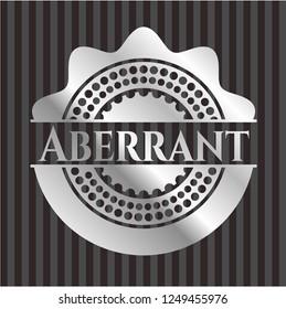 Aberrant silver shiny badge