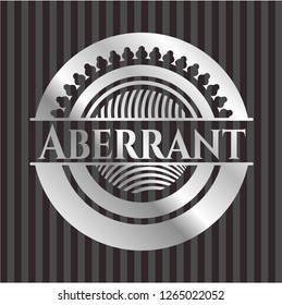 Aberrant silver shiny emblem