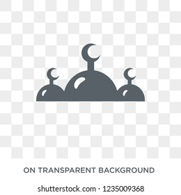 Abrahamic icon. Trendy flat vector Abrahamic icon on transparent background from Religion collection.