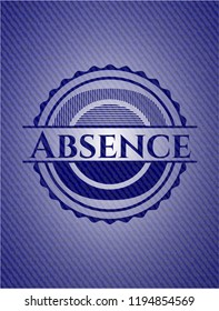 Absence with jean texture