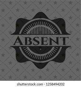 Absent dark emblem