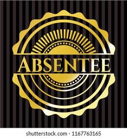 Absentee golden badge