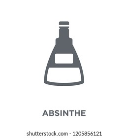 Absinthe icon. Absinthe design concept from Drinks collection. Simple element vector illustration on white background.