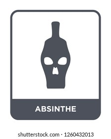 absinthe icon vector on white background., absinthe simple element illustration