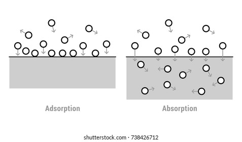 Absorption and Adsorption