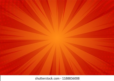 Abstack Background Cartoon Style. BigBamm or Sunlight