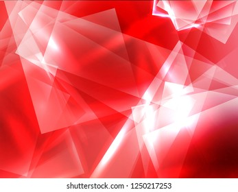 Abstact light triangle background