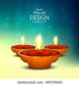 Abstarct happy diwali background