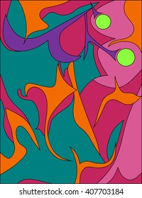 Abstract 1960's design