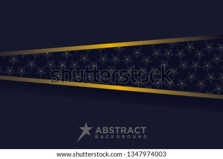 Abstract 3 D Background Combination Luminous Dots Stock Vector