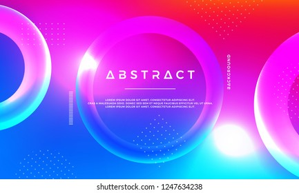 Abstract 3D modern vector background.