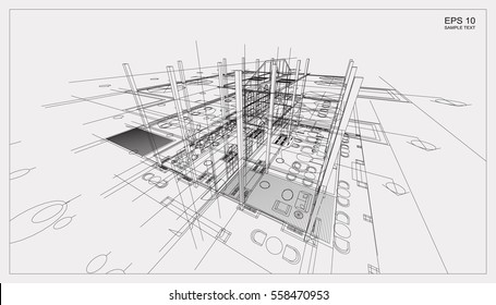 [WQZT_9871]  Schematic Images, Stock Photos & Vectors | Shutterstock | Architectural Engineering Schematics |  | Shutterstock