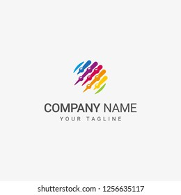 Abstract Abacus Logo can be use for education or accounting company