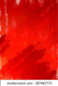 Abstract acrylic red background, scalable vector graphic