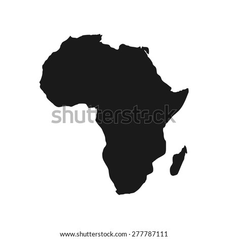 abstract africa logo africa map logo stock vector royalty free