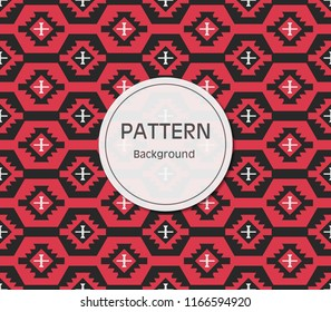 Abstract Albanian Pattern Background