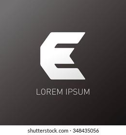 abstract alphabet logo