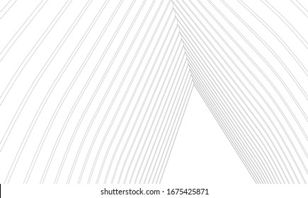 abstract architecture construction 3d vector illustration