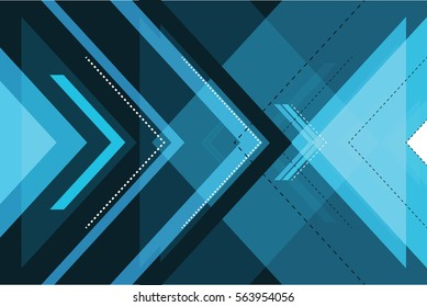 abstract arrows graphics technology background