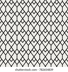 Abstract Art Deco Seamless Pattern Background. Geometric decorative texture.