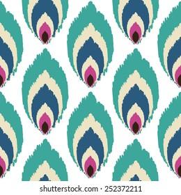 Abstract art seamless pattern.