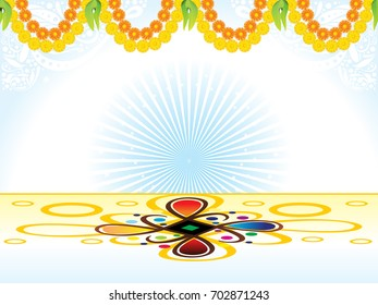 abstract artistic celebration background vector illustration