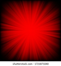 abstract backdrop red and dark radial lines background