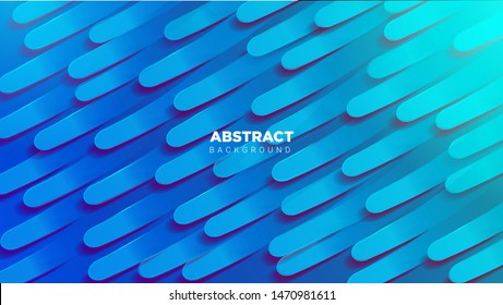 Abstract Background With 3D Texture Composition and gradient color combination. vector