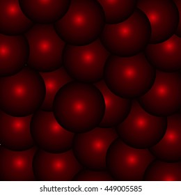 Abstract background, balls