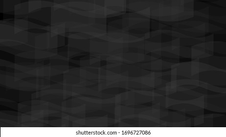 Abstract background in black and gray colors