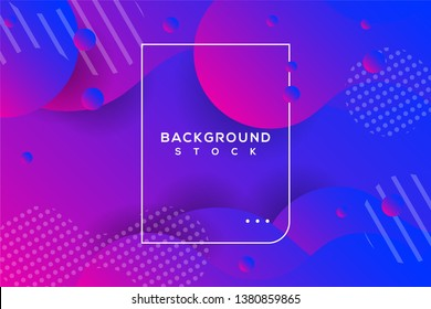 abstract background with blue and red gradient. curvy, wavy, fluid, flowing, irregular shapes. suitable for background, landing page, wallpaper, home screen, theme. vector eps 10